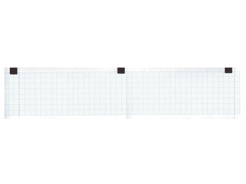 ROTOLO CARTA TERMICA ECG - griglia blu - 50 mm x 30 m