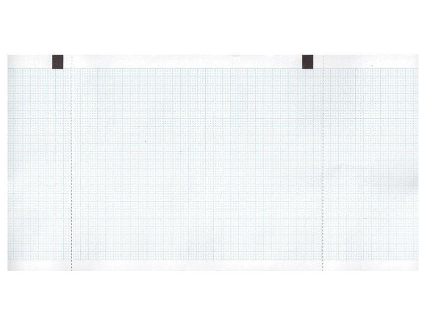 ROTOLO CARTA TERMICA ECG - griglia blu - 30 mm x 27 m