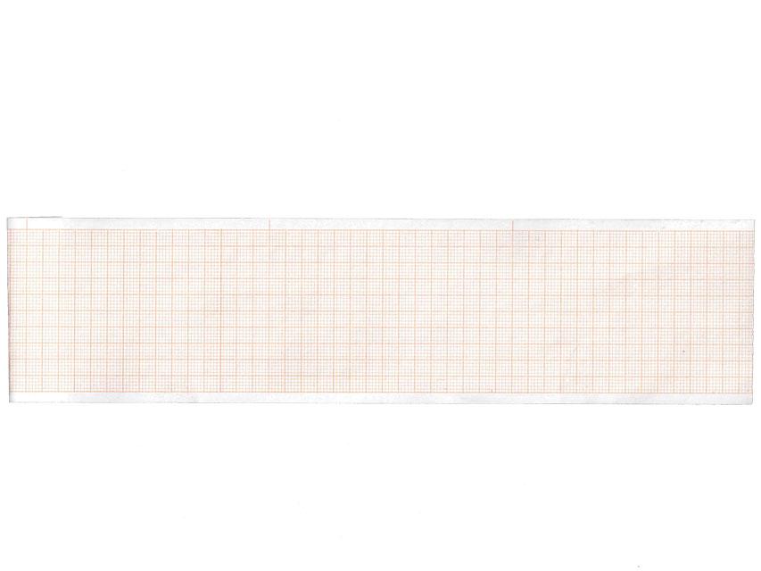 ROTOLO CARTA TERMICA ECG - griglia verde - 57 mm x 13 m
