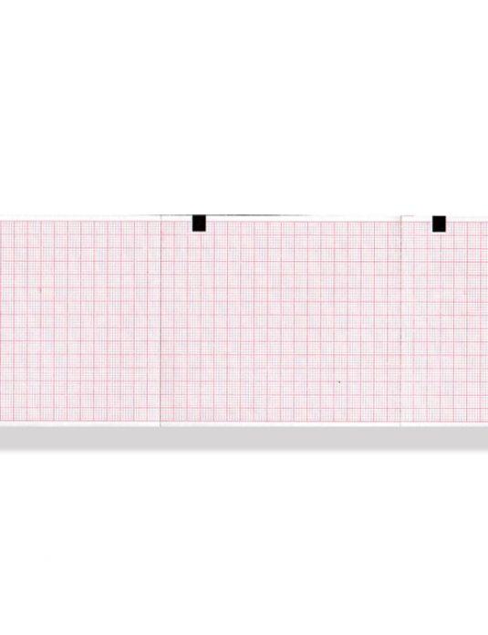 PACCO CARTA TERMICA ECG - griglia arancione - 80 x 90 mm