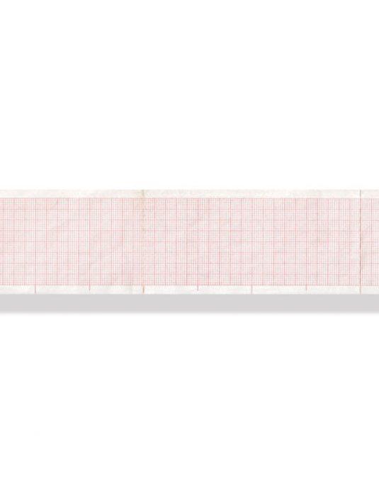 PACCO CARTA TERMICA ECG - griglia arancione - 50 x 100 mm